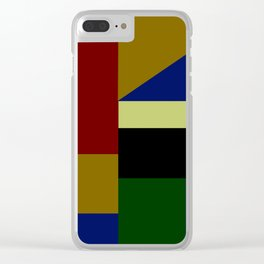 Geometry Clear iPhone Case