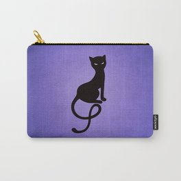 Gracious Evil Black Cat Carry-All Pouch