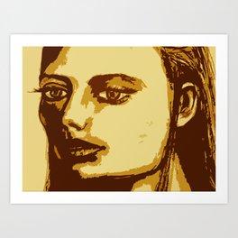Dazed & Unphased Art Print