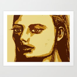 Dazed & Unphased Art Print