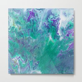 Abstract No. 465 Metal Print