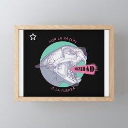 Puma uprising Framed Mini Art Print