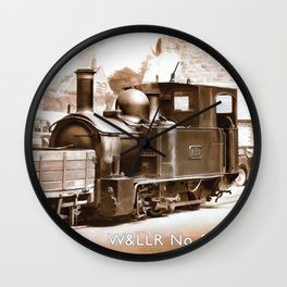 W7LLR No 822 The Earl Wall Clock