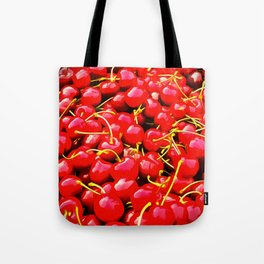 cherries pattern reacstd Tote Bag