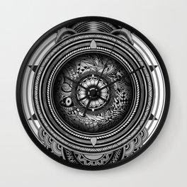 inscription Wall Clock