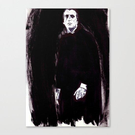 Count Dracula Canvas Print