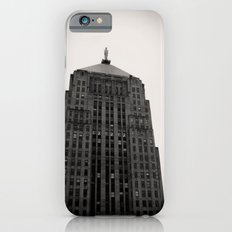 Chicago Board of Trade Building Black and White Slim Case iPhone 6s