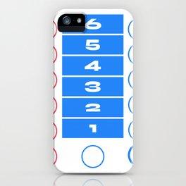 Ludo Game Blue iPhone Case