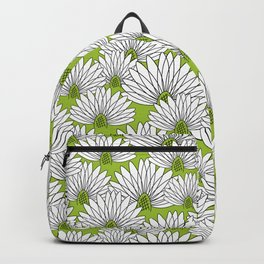 flowers on greenery Backpack