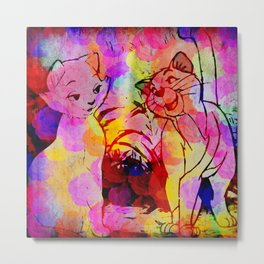 Everybody wants to be a Cat. Metal Print