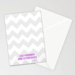Lose Your Mind Stationery Cards