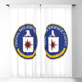 CIA seal Central Intelligence Agency Blackout Curtain