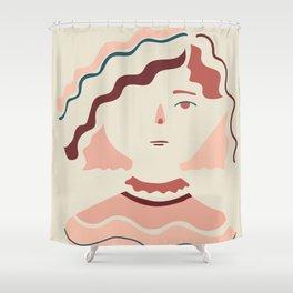 Hello Sophia Shower Curtain