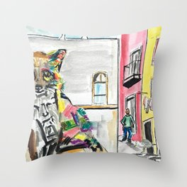 Piece of Portugal Throw Pillow