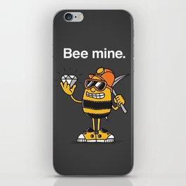 Bee Mine, Valentine iPhone Skin