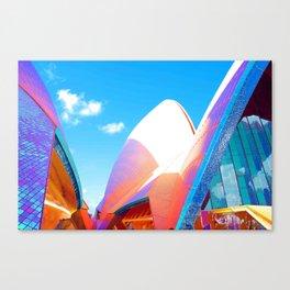 Technicolor opera Canvas Print