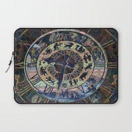 Zodiac Mystery Clock Laptop Sleeve