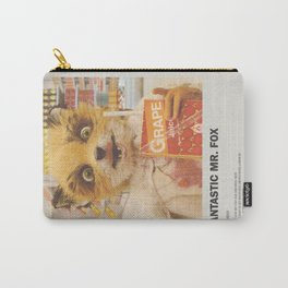 Fantastic Mr. Fox Minimal Movie Poster No 02 Carry-All Pouch