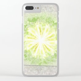 Triptychs Unveiled Flower  ID:16165-114729-45271 Clear iPhone Case