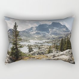 Partly Cloudy Afternoon in the Eastern Sierra Rectangular Pillow