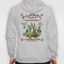 Milagritos Cacti and Succulents Nursery Hoody
