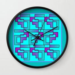 Modern Zuni Contemporary Artwork Wall Clock