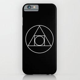 Squared Circle iPhone Case