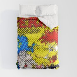 Pop art cereal crunch Comforters