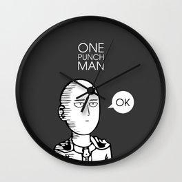 One Punch Man Saitama Wall Clock