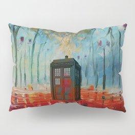 TARDIS ALONE Pillow Sham