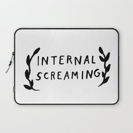 Internal screaming Laptop Sleeve