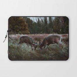 Yosemite Bucks Locking Horns Laptop Sleeve