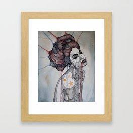 American Firecracker Framed Art Print