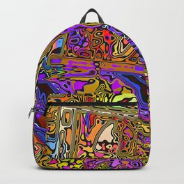 Colorful CD Cases Backpack