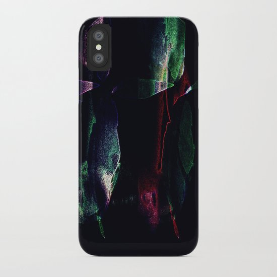 Tropical darkness iPhone Case
