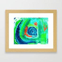 """""""Chameleon"""" Framed Art Print"""
