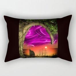 Bremerhaven - Sunset Rectangular Pillow