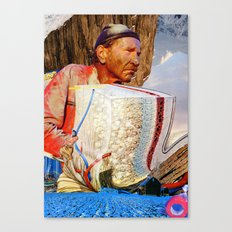 Rods & Cones & Rubber Bands Canvas Print