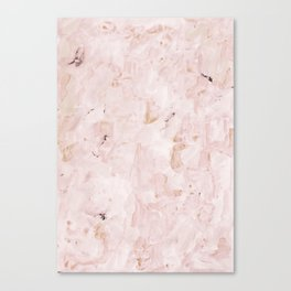 abstract-soft pink Canvas Print