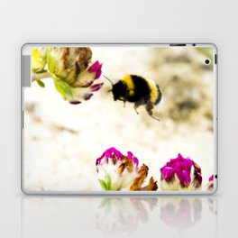 the flight of bumble bee on the dunes I Laptop & iPad Skin