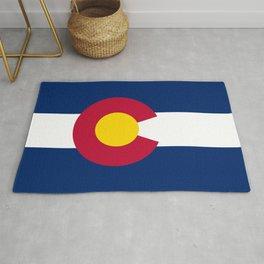 Colorado flag - High Quality image Rug