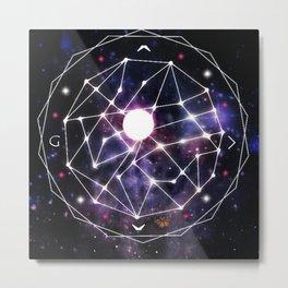 Gods Compass Metal Print