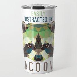 Raccoon Pet Parent Travel Mug