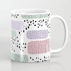 Colorful freckles and strokes memphis rain Mug
