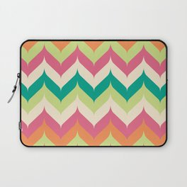 Curvey Herringbone Chevrons Laptop Sleeve