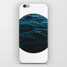 Deep Blue Ocean - Water Waves iPhone Skin