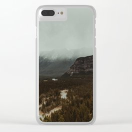 Viewpoint Along the Valley Clear iPhone Case