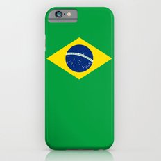 Brazilian National flag Authentic version (color & scale) Slim Case iPhone 6s