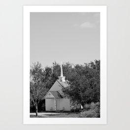 Lost Chapel  Art Print