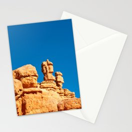 The Totem Heads of Red Canyon Stationery Cards